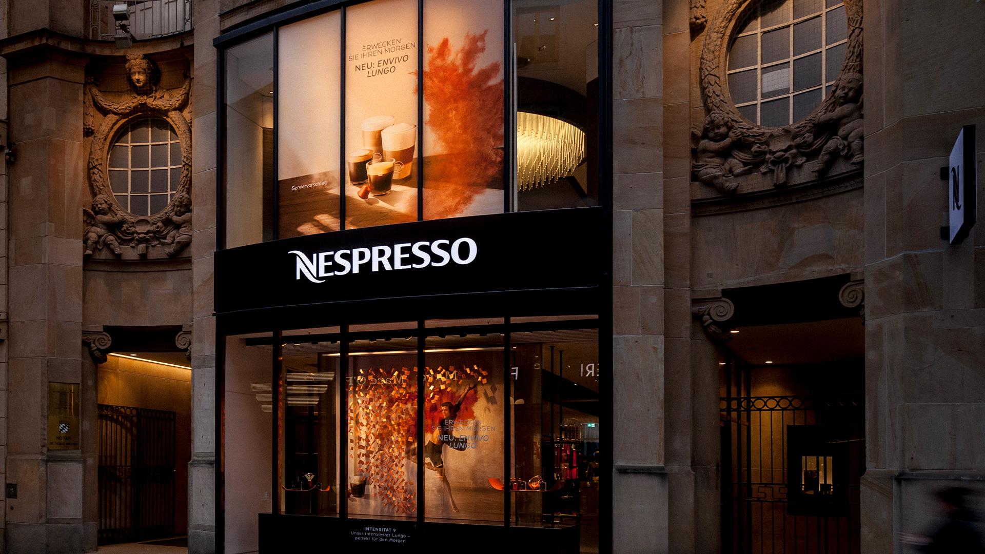LIGANOVA | Nespresso | POS Campaign – Envivo Lungo