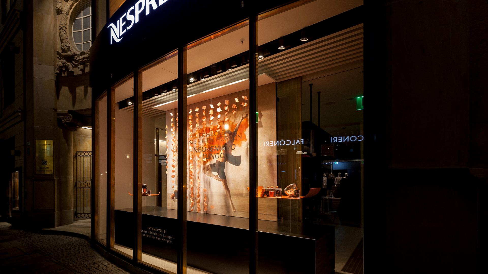 LIGANOVA   Nespresso   POS Campaign – Envivo Lungo   Insights