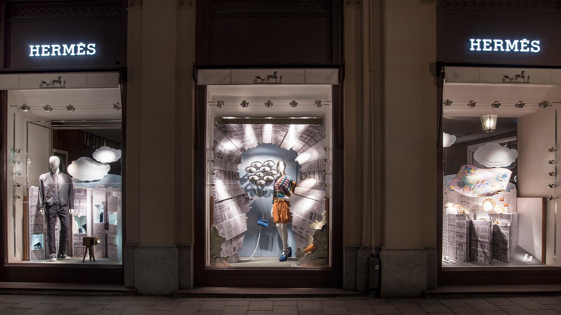 LIGANOVA | Hermès | POS Campaign – Flâneur Forever