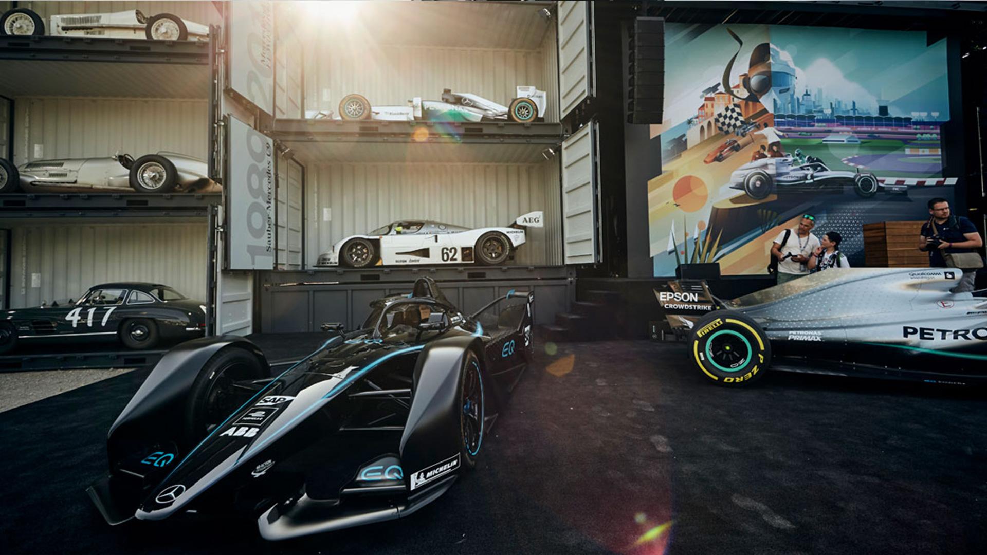 LIGANOVA | Daimler | Brand Experience – Formula 1