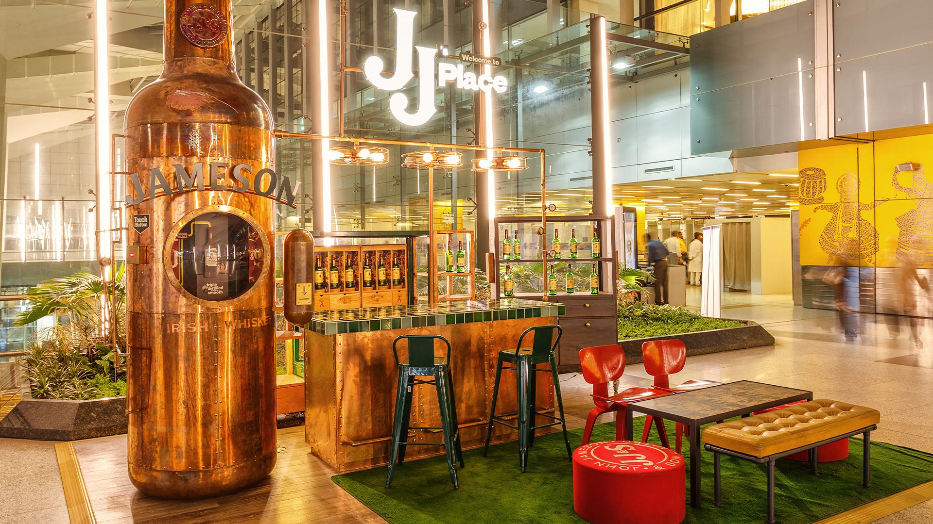 LIGANOVA | Jameson | POS Campaign – JJ's Place