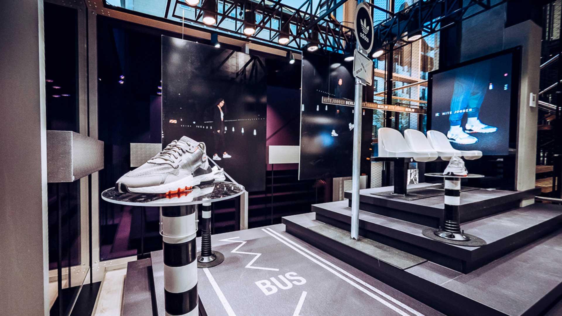 LIGANOVA | Adidas | POS Campaign – Nite Jogger