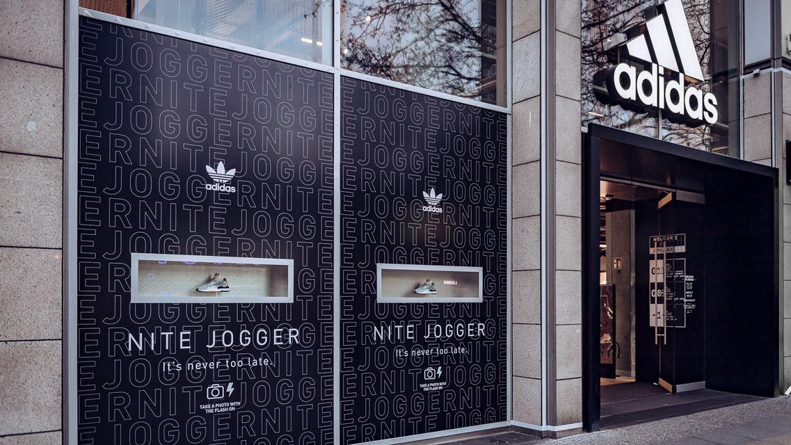 LIGANOVA | Adidas | POS Campaign – Nite Jogger | Insights