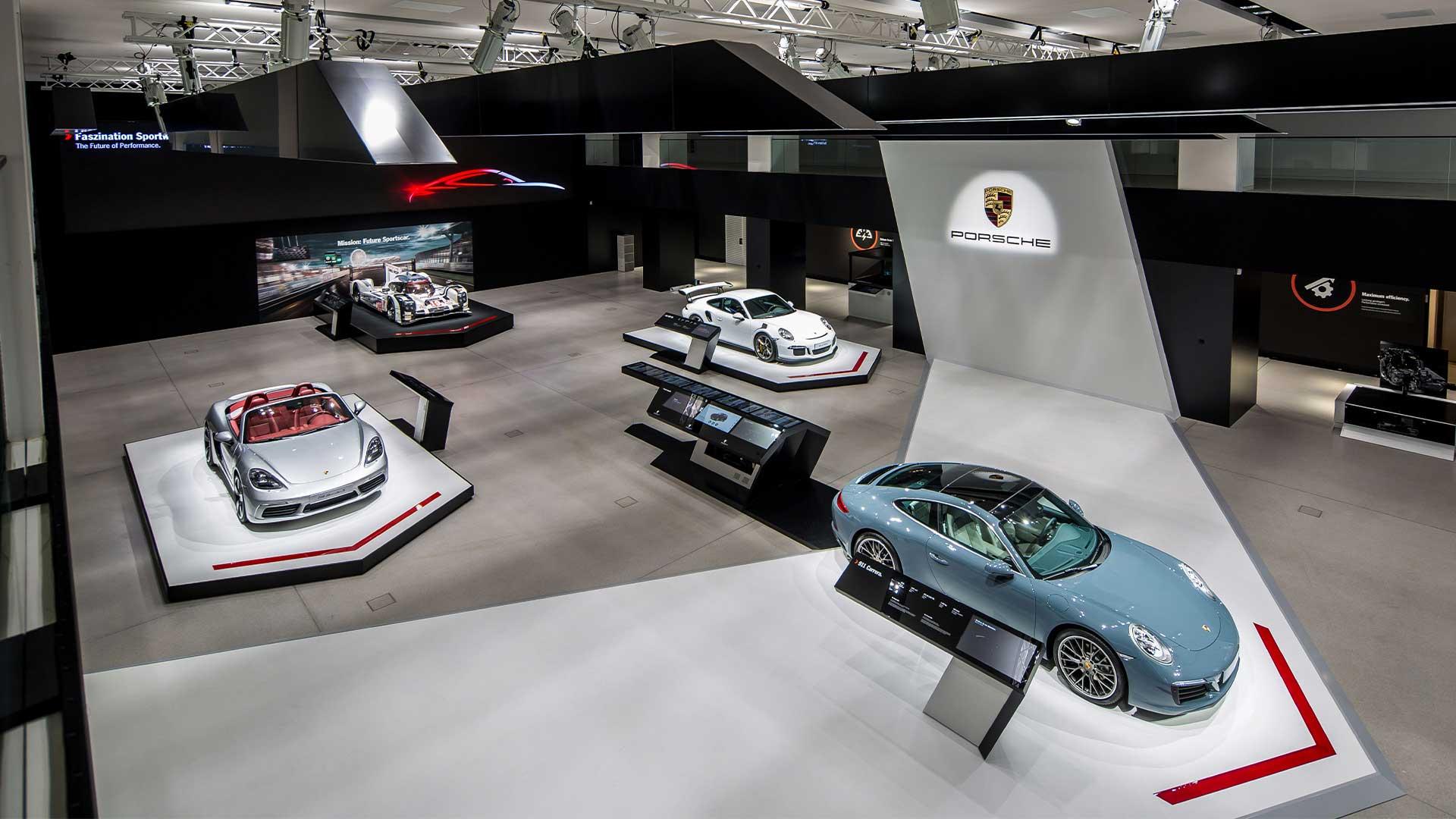 LIGANOVA | Porsche | Brand Experience – DRIVE. Volkswagen Group Forum