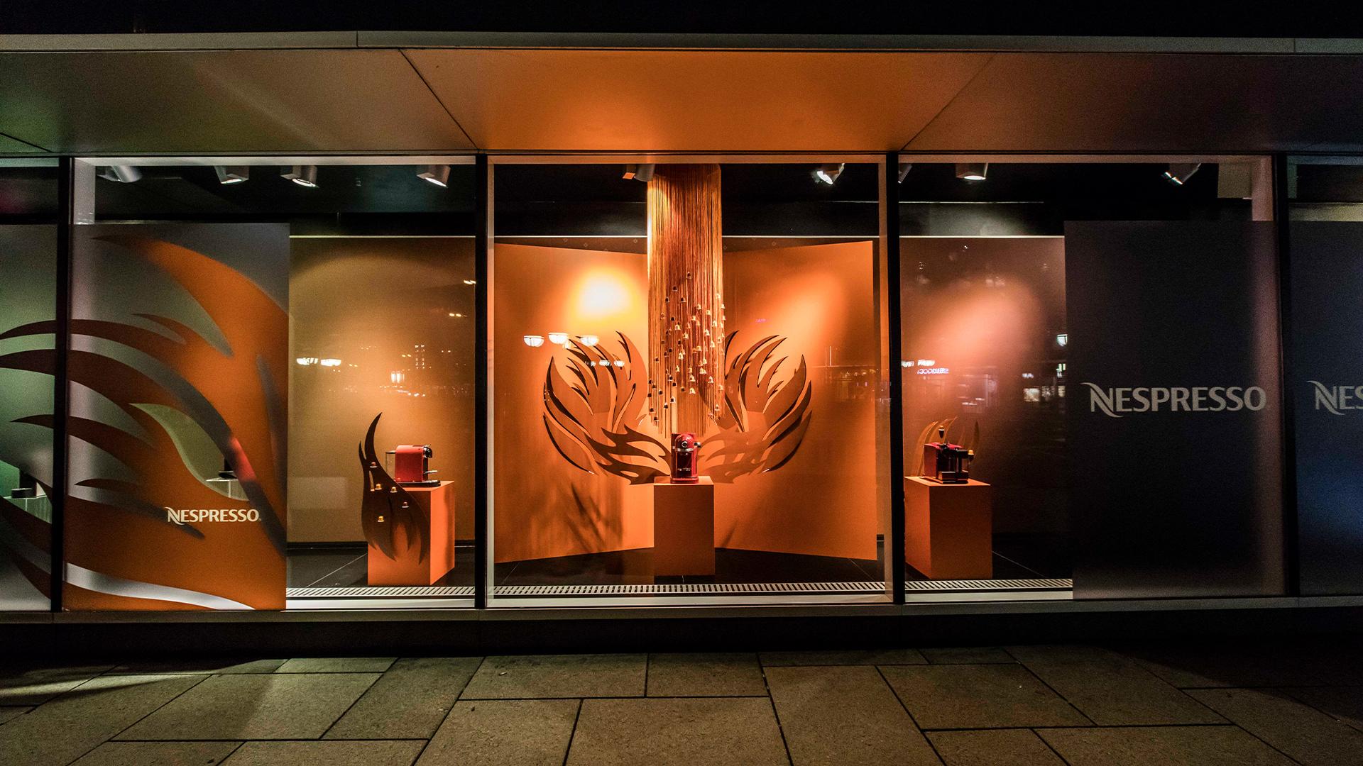 LIGANOVA | Nespresso | POS Campaign – The Elements | Insights