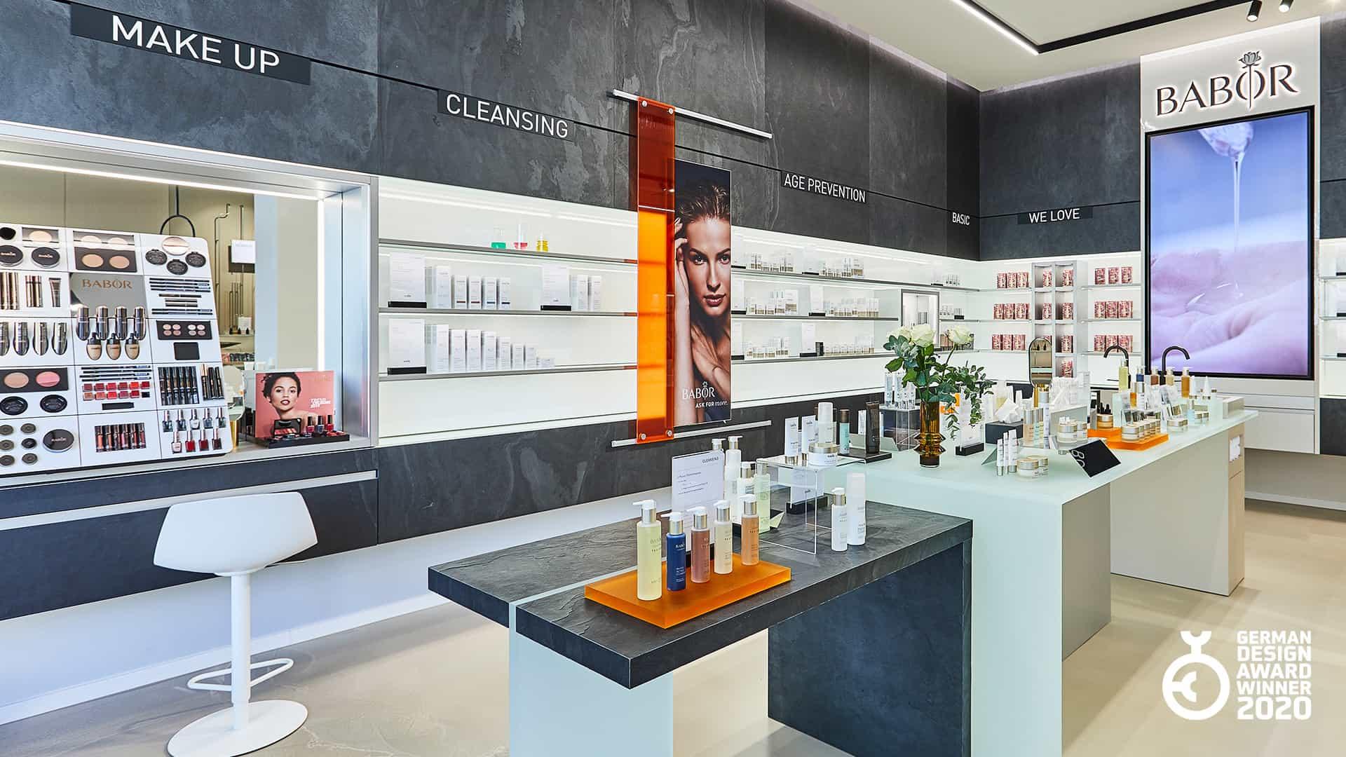 LIGANOVA | Babor | Brand Experience – Flagship Store Frankfurt