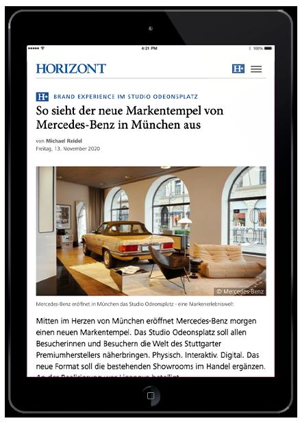Studio  Odeonsplatz   Horizn   Freisteller