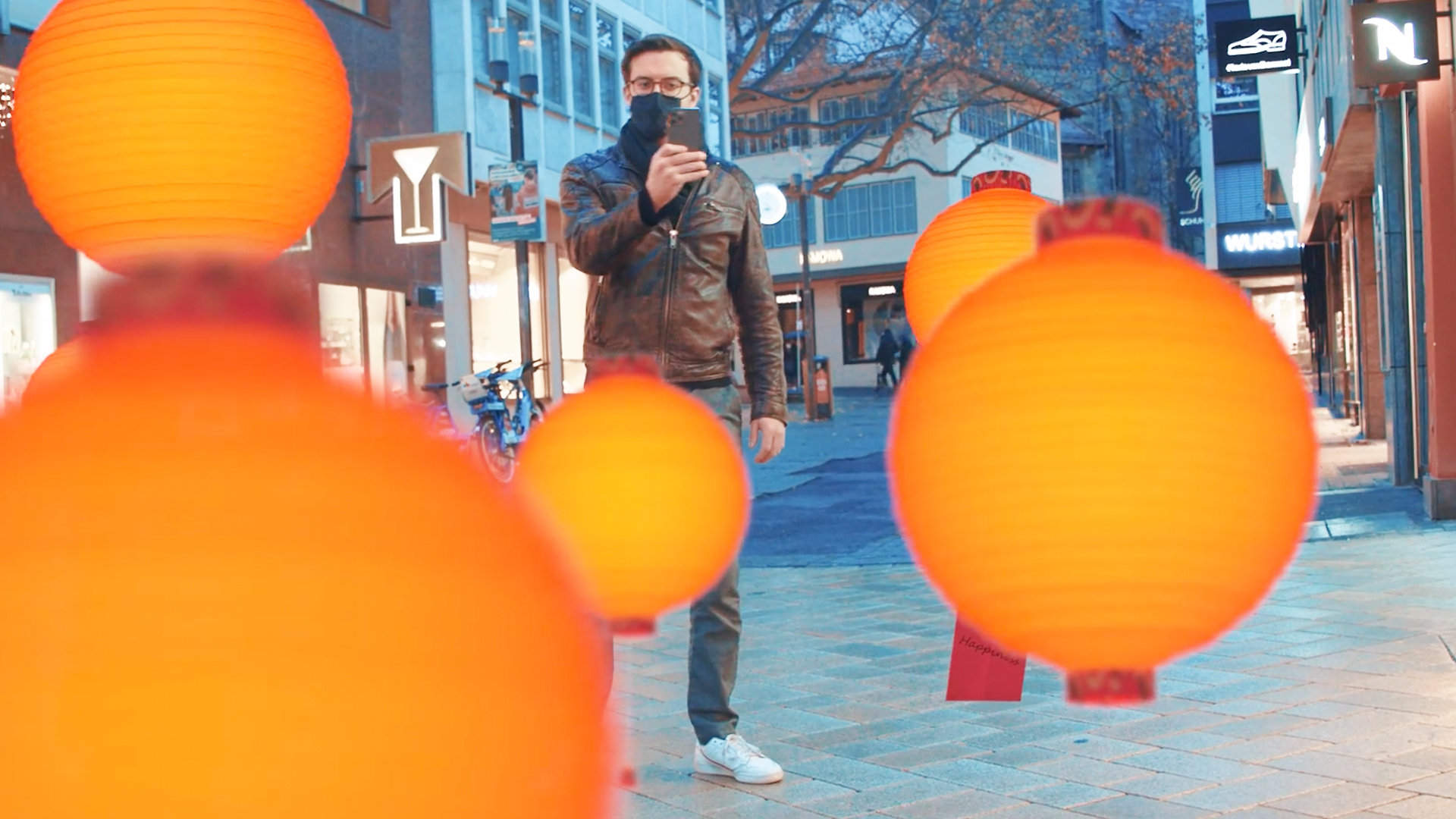 LIGANOVA | Title | Nespresso | POS Campaign | World Explorations | Shanghai Lungo | Window Display | AR Experience