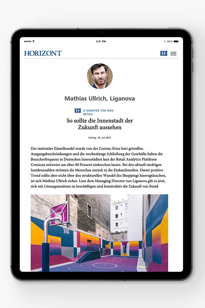 Press | Horizont | Innenstädte | Mathias Ullrich